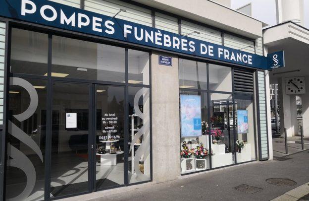 POMPES FUNÈBRES DE FRANCE à Lyon Berthelot