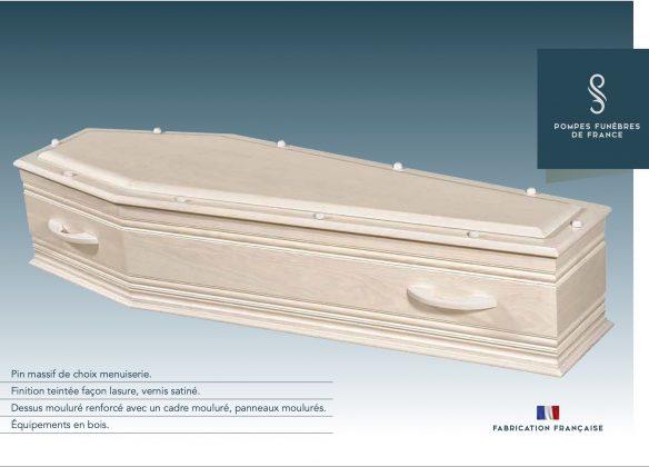 Cercueil modèle PLANOL