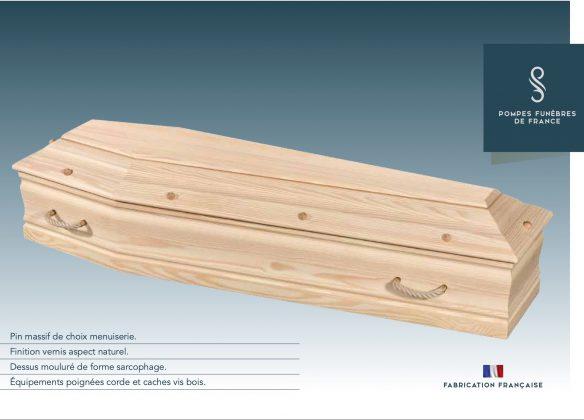 Cercueil modèle TOURNAC