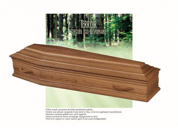Cercueil modèle TERROIR