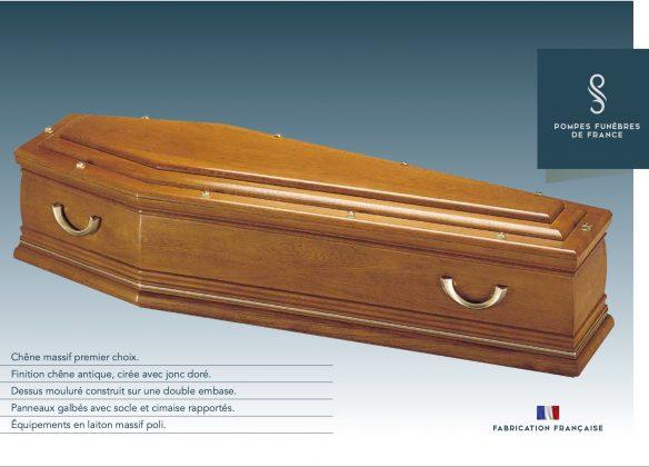 Cercueil modèle PANTHÉON