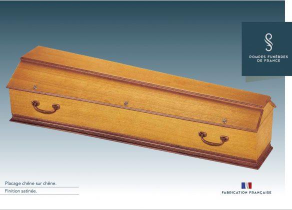 Cercueil SIMPLE (Lyonnais)