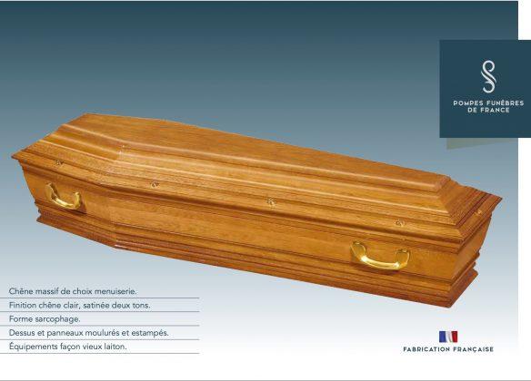 Cercueil modèle TAILLANT