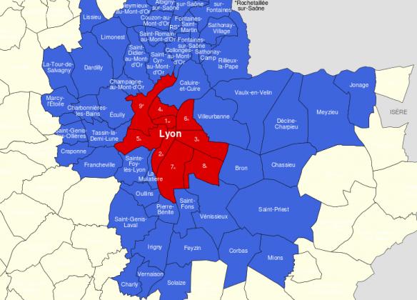 Statistiques et informations sur la Métropole de Lyon